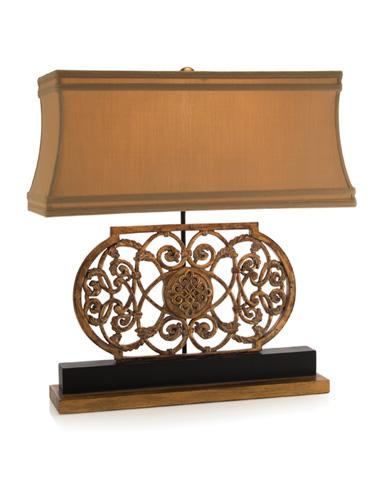 John Richard Collection - Antique Medallion Lamp - JRL-8976