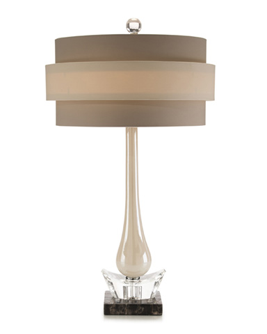 John Richard Collection - Pearlized Glass Accent Lamp - JRL-8977