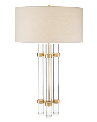 John Richard Collection - Glass Spear Table Lamp - JRL-8990