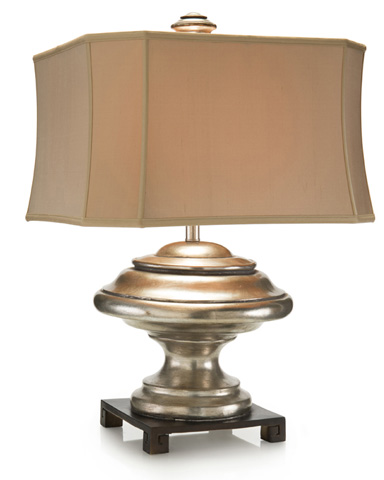 John Richard Collection - Silver Orbis Table Lamp - JRL-8994