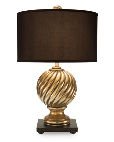 John Richard Collection - Gold Spiral Finial Table Lamp - JRL-8995