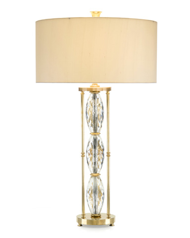 John Richard Collection - Triple Hour Glass Table Lamp - JRL-8999