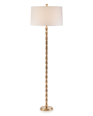 John Richard Collection - Brass Beads Floor Lamp - JRL-9008