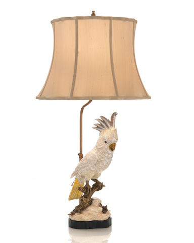 John Richard Collection - White Parrot Accent Lamp - JRL-9034