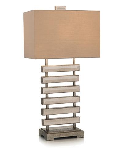 John Richard Collection - Mirrored Ladder Table Lamp - JRL-9059