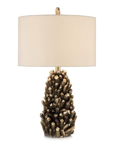 John Richard Collection - Golden Crystals Accent Lamp - JRL-9062