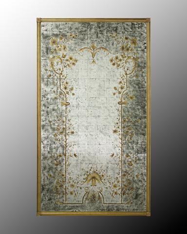 John Richard Collection - Whitehall Floor Mirror - JRM-0248