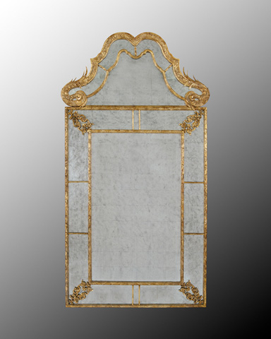 John Richard Collection - Verona Framed Mirror - JRM-0324