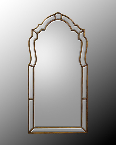 John Richard Collection - Wood Frame with Beveled Mirror - JRM-0401