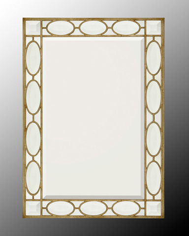 John Richard Collection - Silver Wood Frame with Mirror - JRM-0422