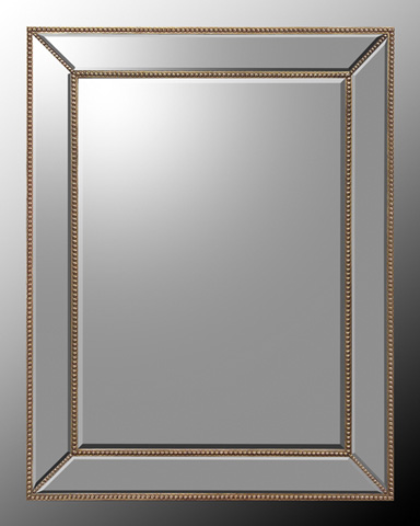 John Richard Collection - Mirrored Frame with Beveled Mirror - JRM-0558