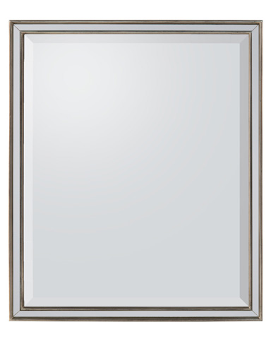 John Richard Collection - Antique Silver Wood Framed Mirror - JRM-0748