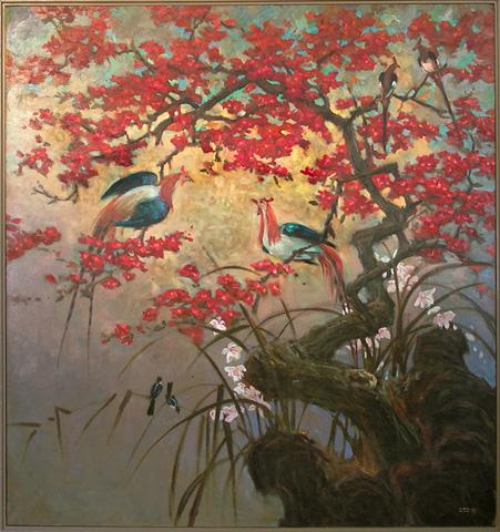 John Richard Collection - Fowl in Tree - JRO-1403