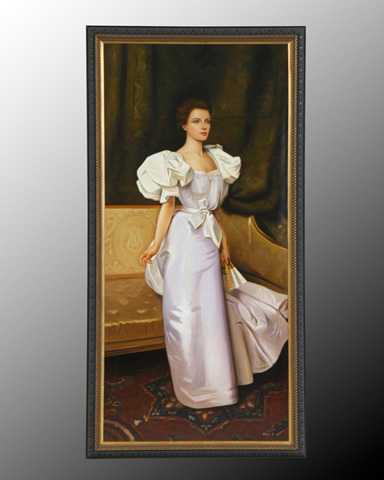 John Richard Collection - Maria Standing Lady with Fan - JRO-1832