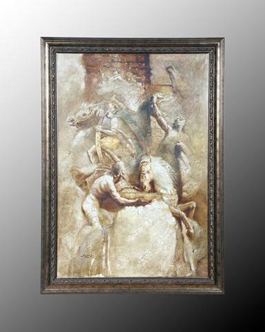 John Richard Collection - Santoni Greco Roman Fresco - JRO-1852