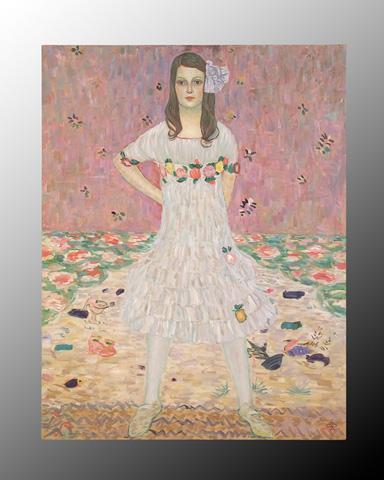 John Richard Collection - Original Reproduction Klimt Portrait - JRO-1958