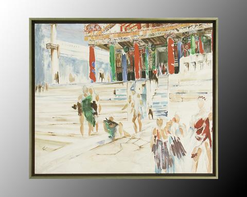 John Richard Collection - Villalobos Market - JRO-2303