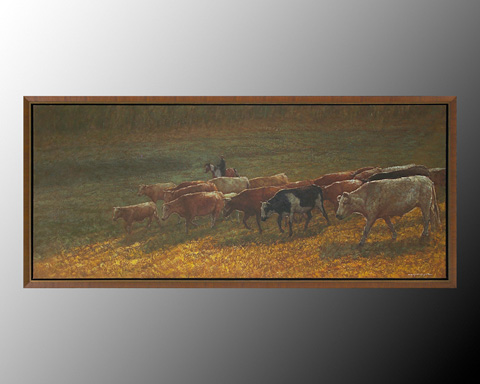 John Richard Collection - Hongyue Moving to Lower Ground - JRO-2443