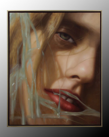 John Richard Collection - Ke Shaoxian Girl Under Glass - JRO-2450