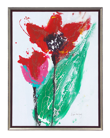 John Richard Collection - Leiming Rainy Day Tulips - JRO-2490