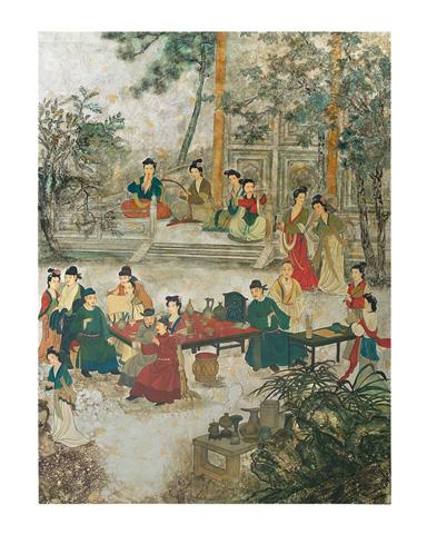 John Richard Collection - Wu Haicheng Oriental Banquet - JRO-2567