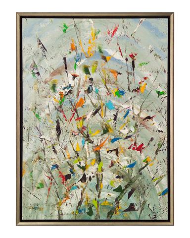John Richard Collection - Jinlu the Confetti Garden - JRO-2581