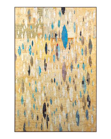 John Richard Collection - Letters in Blue by Teng Fei - JRO-2642