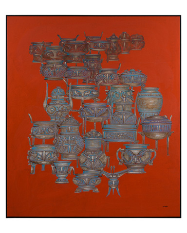 John Richard Collection - Teng Fei's Urn - JRO-2715