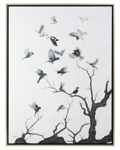 John Richard Collection - Teng Fei's Black Birds - JRO-2728