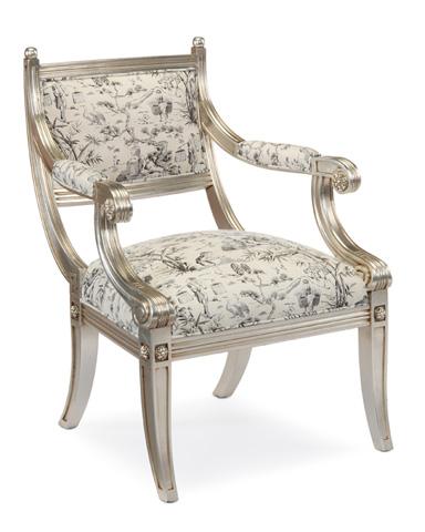 John Richard Collection - Empire Style Arm Chair - AMF-1008V64-1024-AS