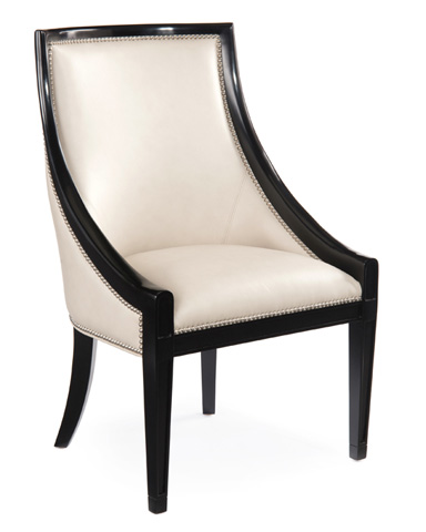 John Richard Collection - Klismos Dining Chair - AMF-1288V60-LTGY-AS