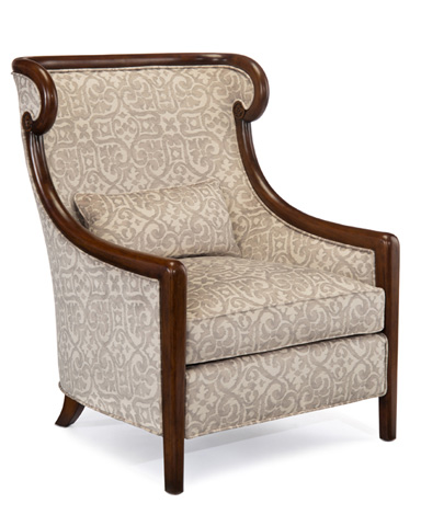 John Richard Collection - Camille Bergere Tufted Back Chair - AMF-1299V50-1026-AS