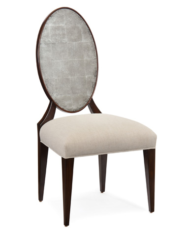 John Richard Collection - Eglomise Dining Chair - AMF-1300V50-1001-AS