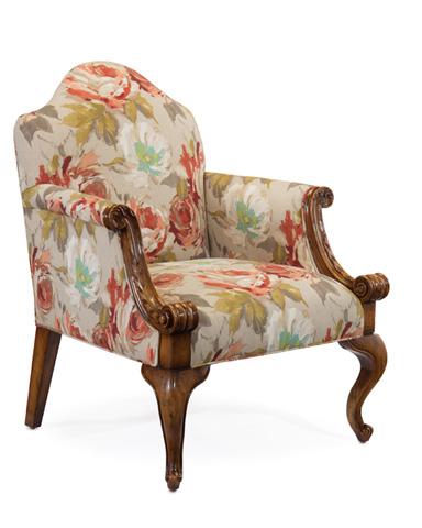 John Richard Collection - Queen Anne Tete A Tete Chair - AMF-1312V19-2037-AS