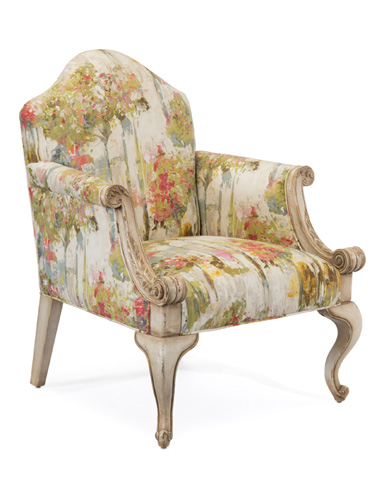 John Richard Collection - Queen Anne Tete A Tete Chair - AMF-1312V59-2036-AS
