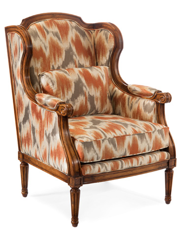 John Richard Collection - Reims Wing Chair - AMF-1320V19-2042-AS