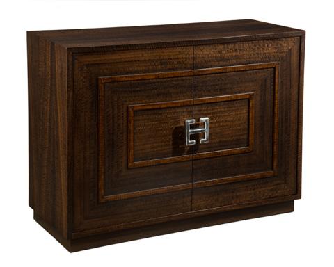 John Richard Collection - Elizabeth Smoked Eucalyptus Cabinet - EUR-04-0287