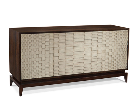 John Richard Collection - Eucalyptus and Smoky Credenza - EUR-04-0311