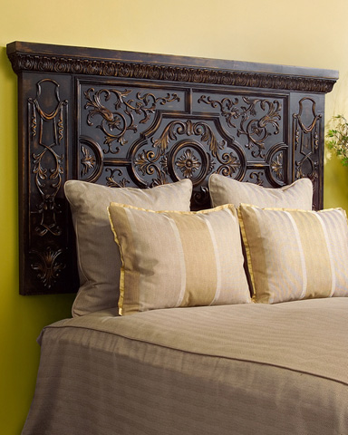 John Richard Collection - Valdes Carved Headboard in Queen - EUR-06-0003