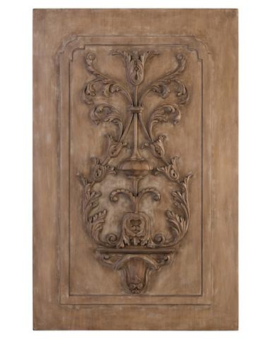 John Richard Collection - Acacia And Celtis Carved Panel - GBG-1113