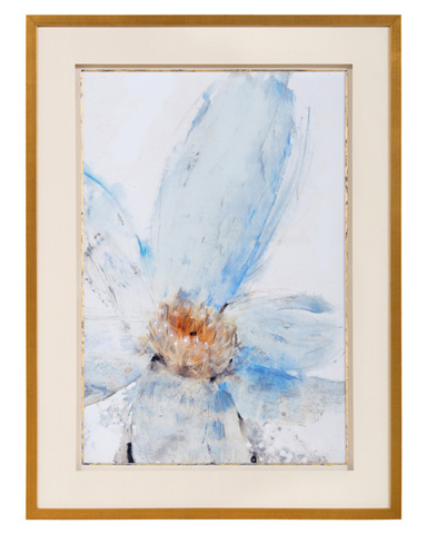 John Richard Collection - Floral Blue I - GRF-5625A
