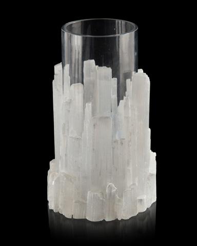 John Richard Collection - Natural Selenite Vase - JRA-10037