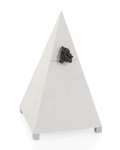 John Richard Collection - White Croc Obelisk Box - JRA-9904