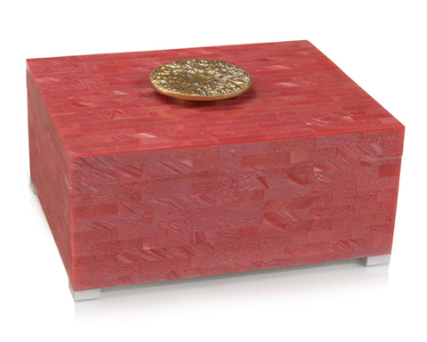 John Richard Collection - Palm Beach Coral Box - JRA-9908
