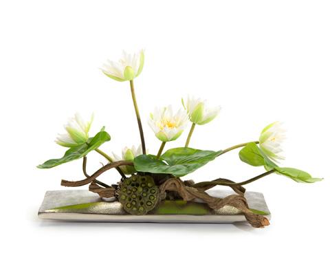 John Richard Collection - Floating Lilies - JRB-3509