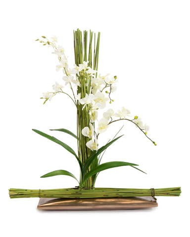 John Richard Collection - Bamboo Orchids - JRB-3510W