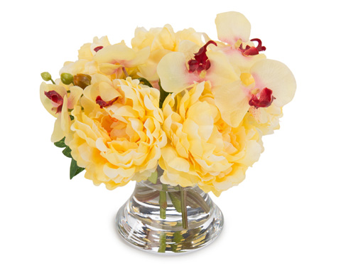 John Richard Collection - Peonies and Orchids - JRB-3565W