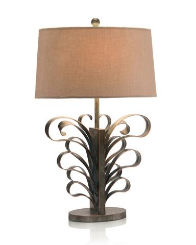 John Richard Collection - Iron Curls Table Lamp - JRL-9038