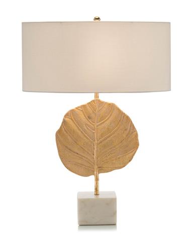 John Richard Collection - The Golden Leaf Table Lamp - JRL-9151