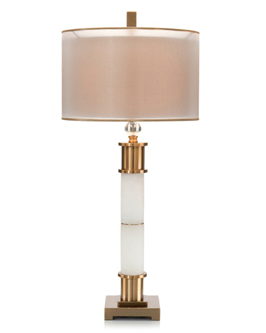 John Richard Collection - Frosted Buffet Lamp - JRL-9164